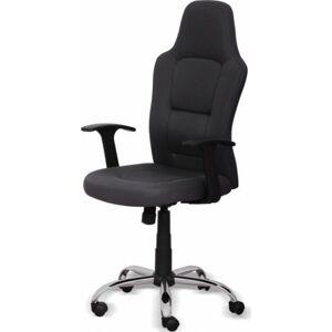 Tempo Kondela Kancelářská židle VAN - šedá + kupón KONDELA10 na okamžitou slevu 10% (kupón uplatníte v košíku)