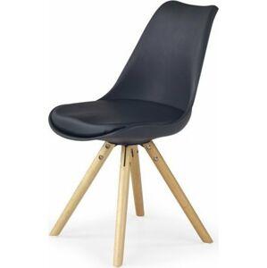 Halmar Jídelní židle K201 tyrkysová