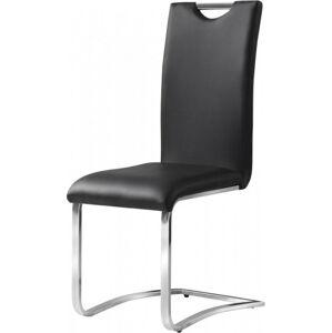 Casarredo Jídelní čalouněná židle H-790 černá
