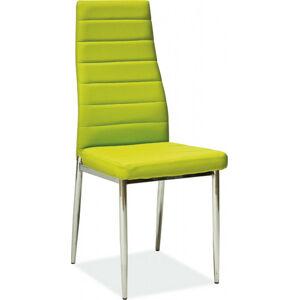 Casarredo Jídelní čalouněná židle H-261 zelená