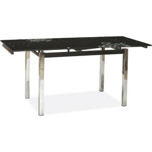 Casarredo Jídelní stůl GD-017 rozkládací černý