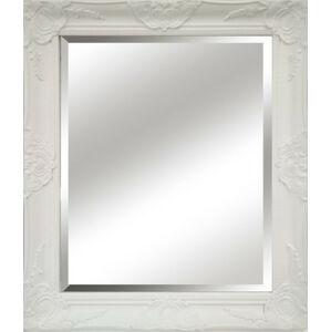 Tempo Kondela Zrcadlo, bílý dřevěný rám, MALKIA TYP 13 + kupón KONDELA10 na okamžitou slevu 3% (kupón uplatníte v košíku)
