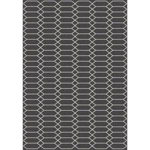 Černý koberec Universal Norway Negro,120x170cm