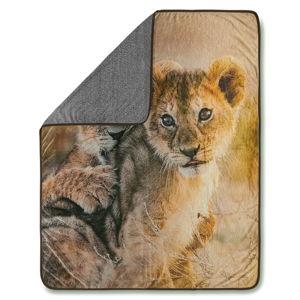 Pléd Good Morning Baby Lion, 130 x 160 cm