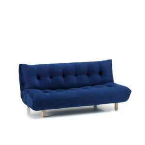 Modrá rozkládací pohovka Design Twist Tampico