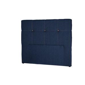 Tmavě modré čelo postele Stella Cadente Maison Cosmos, 160x118cm