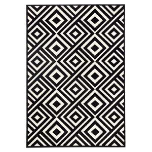 Černobílý koberec Zala LivingArt, 200x290cm