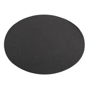 Černé prostírání z imitace kůže ZicZac Troja,33x45cm