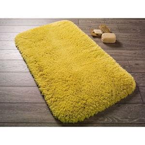 Žlutá předložka do koupelny Confetti Miami, 57x100cm