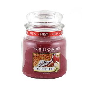 Vonná svíčka Yankee Candle Francouzský Jablečný Koláč, doba hoření 65 - 90 hodin