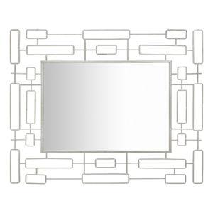 Nástěnné zrcadlo Mauro Ferretti Mirror Ice, 80x100 cm