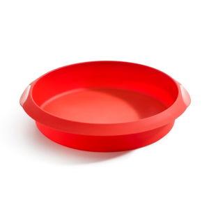 Červená silikonová forma na pečení Lékué, ⌀ 24 cm
