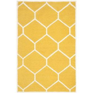 Koberec Safavieh Lulu Yellow, 121 x 182 cm