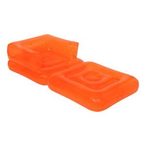 Oranžové nafukovací lehátko Sunnylife Pomelo
