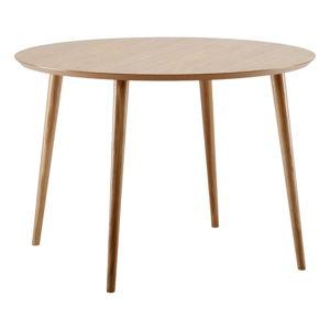 Jídelní stůl v dubovém dekoru Woodman Cloyd,ø100cm