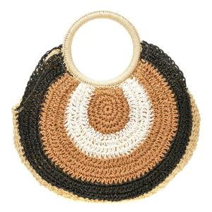 Černo-hnědá dámská kabelka Sofia Cardoni