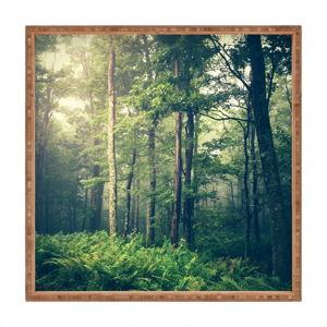 Dřevěný dekorativní servírovací tác Fairyland, 40x40cm