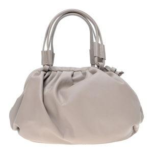 Béžová kožená taška přes rameno Isabella Rhea