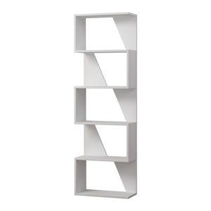 Bílá knihovna Homitis Frame