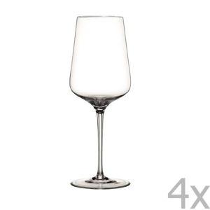 Sada 4 sklenic na červené víno z křišťálového skla Nachtmann ViNova Glass, 550 ml