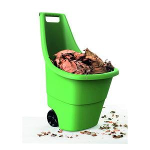 Zelený zahradní odpadkový koš na kolečkách Keter, 50 l