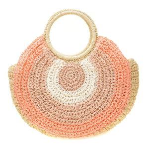 Růžová dámská kabelka Sofia Cardoni