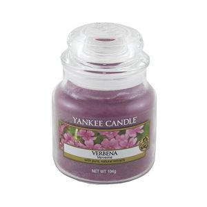 Vonná svíčka Yankee Candle Verbena, doba hoření 25 - 40 hodin