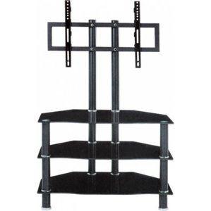 Tempo Kondela Televizní stolek ROSS - černá + kupón KONDELA10 na okamžitou slevu 3% (kupón uplatníte v košíku)