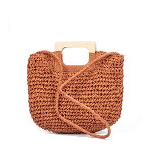 Oranžová dámská kabelka Nina Beratti Maverick Brique