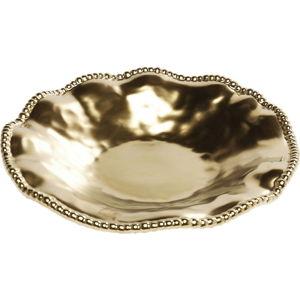 Tác ve zlaté barvě Kare Design Bell Gold, ⌀36cm