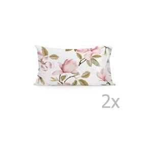 Sada 2 bavlněných povlaků na polštář Happy Friday Magnolia,50x75cm