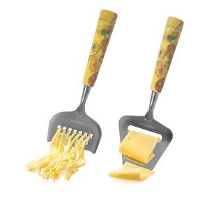 Set hoblíku a struhadla na sýr Boska Cheese Set Mini Van Gog Sunflowers