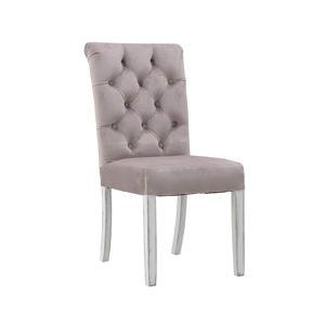 Růžová jídelní židle InArt Gemma