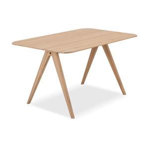 Jídelní stůl z dubového dřeva Gazzda Ava, 90 x 140 cm