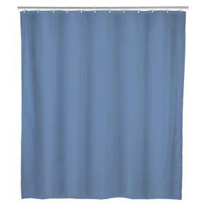 Modrý koupelnový závěs Wenko, 180x200cm