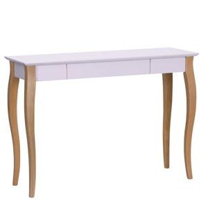 Růžový psací stůl Ragaba Lillo,délka105cm