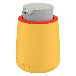 Žlutý keramický dávkovač na mýdlo Leitz Cosy