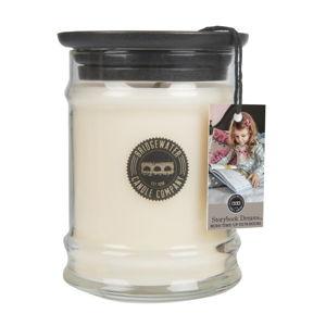 Malá svíčka ve skleněné dóze s vůní bylinkového čaje Bridgewater candle Company Sweet Storybook Dreams, doba hoření 65-85hodin