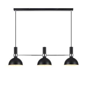 Černé trojité stropní svítidlo Markslöjd Larry