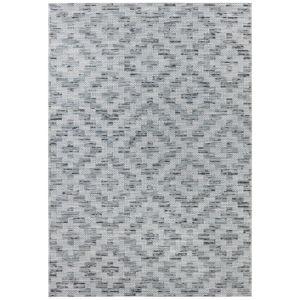 Modro-šedý koberec vhodný do exteriéru Elle Decor Curious Creil, 154 x 230 cm