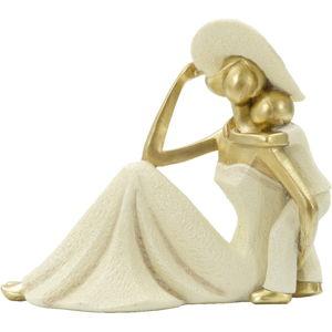 Dekorativní soška s detaily ve zlaté barvě Mauro Ferretti Bambino