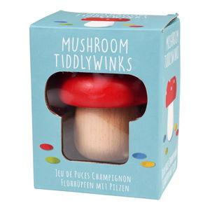 Dřevěná hračka ve tvaru houby Rex London Mushroom TiddlyWinks