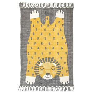 Dětský ručně potištěný koberec Nattiot Baba, 110x170cm