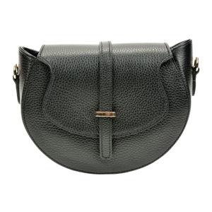 Černá dámská kožená kabelka Roberta M Ancona