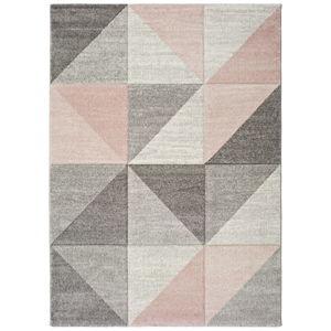 Růžovošedý koberec Universal Retudo Naia, 60x120cm