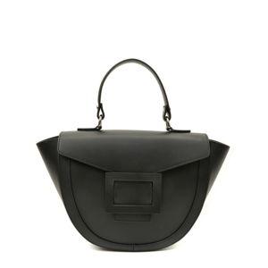 Černá kožená kabelka Luisa Vannini Luna