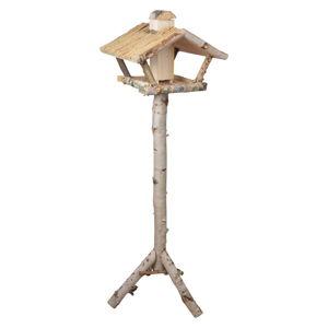 Dřevěné krmítko na trojnožce se zásobníkem Esschert Design