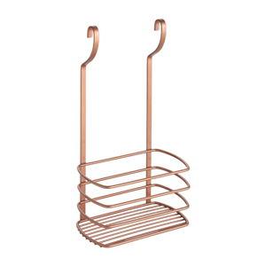 Závěsná polička na lahve Metaltex Copper