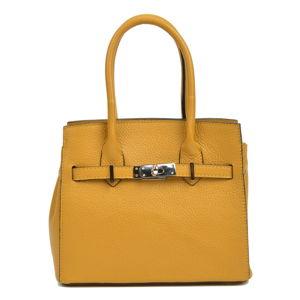 Žlutá dámská kožená kabelka Sofia Cardoni Neapol