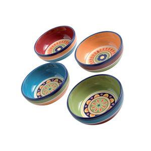 Sada 4 barevných misek Brandani, ⌀ 13 cm